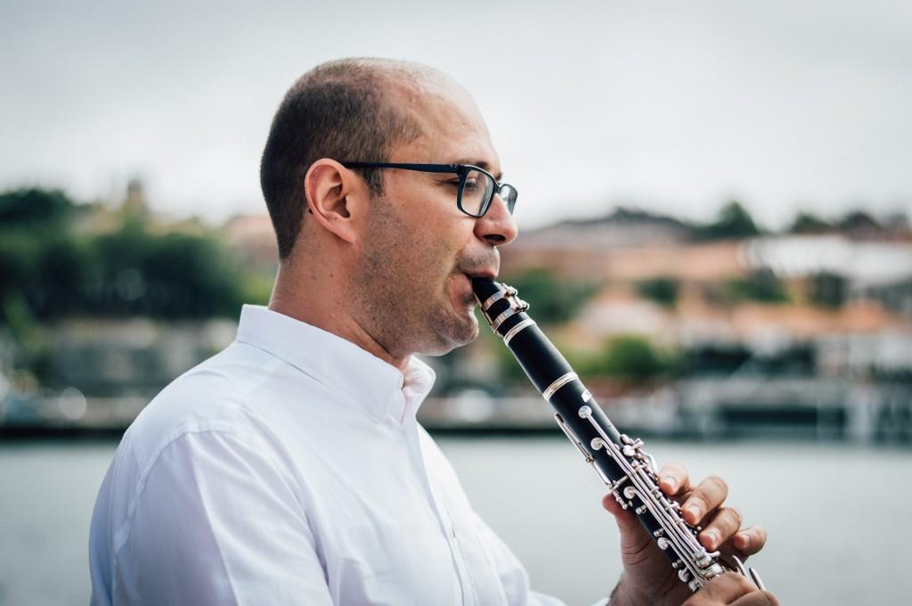 Clarinet Player Victor Pereira