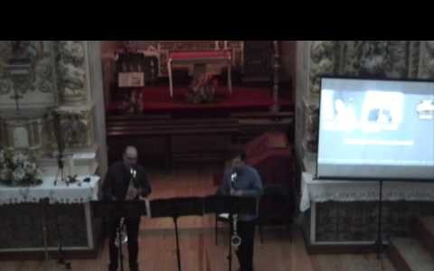 Victor Pereira - Clarinetista, Cosmic Turtle Sidekick - Brad Baumgardner para dois clarinetes baixo