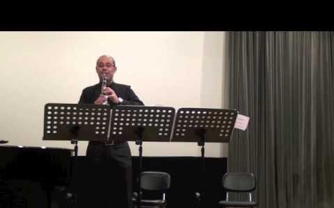 Alboque para Clarinete solo, Victor pereira clarinete